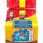 Tetra Koi Sticks Colour Growth энергетический корм для кои в гранулах 4 л
