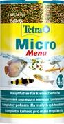 Tetra Micro Menu 100 мл - корм для рыб небольшого размера, разделенный по 4 разным ячейкам