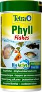 Tetra Phyll 250 мл - корм для растительноядных рыб (хлопья)