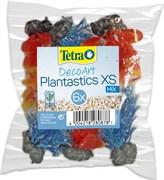 Tetra Plantastics XS Mix - набор искусственных растений (2 вида по 3 шт.= 6 шт.), размер около 6 см