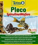 Tetra Pleco Spirulina Wafers 15 г (пакетик) - корм для крупных травоядных донных рыб