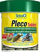 Tetra PlecoTablets 120 таблеток (66 мл) - корм для травоядных донных рыб