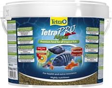 Tetra PRO Algae crisps 10 л (ведро) - корм для растительноядных рыб