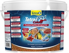 Tetra PRO Colour Crisps 10 л (ведро) - корм для улучшения окраски