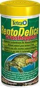 Tetra ReptoDelica grasshopers 250 мл - натуральное лакомство для водных черепах (кузнечики)