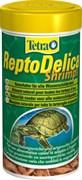 Tetra ReptoDelica Shrimps 250 мл - натуральное лакомство для водных черепах (креветки)