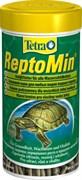 Tetra ReptoMin 250 мл - полноценный корм для водных черепах и других плотоядных рептилий