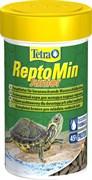 Tetra ReptoMin Junior 100 мл - основной корм для молодых водных черепашек в виде мини-палочек