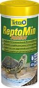 Tetra ReptoMin Junior 250 мл - основной корм для молодых водных черепашек в виде мини-палочек