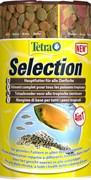 Tetra Selection 4 в 1 (250 мл) - хлопья, чипсы, гранулы, вафер микс
