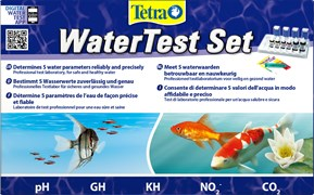Tetra WaterTest Set - набор тестов для воды (pH, gH, kH, NO2, CO2 (таблица))