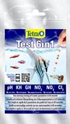 Tetratest 6 in 1 (10 полосок) - тест 6 в 1 - для быстрого измерения основных параметров