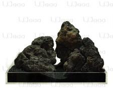 UDeco Black Lava MIX SET 7 - Набор натуральных камней 'Лава чёрная' 7 кг