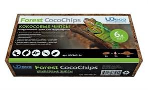 """UDeco Forest CocoChips, 6 л - натуральный грунт для террариумов Кокосовые чипсы"""""""