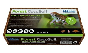 """UDeco Forest CocoSoil, 7 л - натуральный грунт для террариумов Кокосовый субстрат"""""""