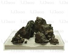 UDeco Grey Stone MIX SET 15 - Набор натуральных камней 'Серый' 15 кг