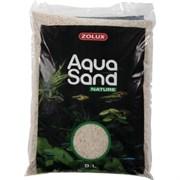 Zolux Aquasand Quartz Blanc 9 л - Грунт для аквариума (песок беленный)