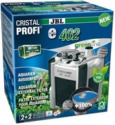 JBL CristalProfi e402 greenline+ - внешний фильтр для аквариумов объемом 40-120 л