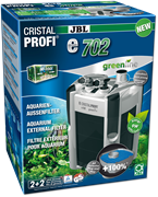 JBL CristalProfi e702 greenline+ - внешний фильтр для аквариумов объемом 60-200 л
