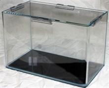 PRIME - аквариум 23л без швов на передней стенке из стекла OptiWhite, 40x23х25 см, с покровным стеклом
