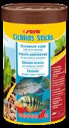 sera Cichlids Sticks 250 мл - корм в палочках для всех видов цихлид и других крупных рыб