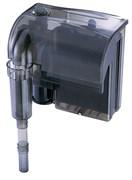 Atman HF-0600 - рюкзачный фильтр для аквариумов до 100 л, 660 л/ч, 6W с поверхностным скиммером (черный корпус)