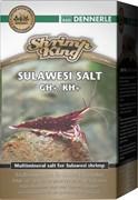 Dennerle Shrimp King SHRIMP KING SULAWESI SALT GH+/KH+ - минеральная соль для подготовки воды в аквариумах с креветками озер Сулавеси, 200г