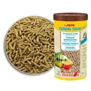 sera Cichlids Sticks 210 г (соответсвует фирменной банке 1 л) на развес - корм в палочках для всех видов цихлид и других крупных рыб