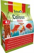 Tetra Pond Colour Sticks корм для прудовых рыб, палочки для окраски  4л
