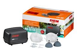 EHEIM AIR 1000 компрессор  (1000л.ч) (двухканальный, 2 шланга, 2 распылителя, 2 обрантых клапана и разветвители)