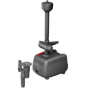 EHEIM PLAY 3500 помпа фонтанная с тремя насадками, 55 Вт, 3200л/ч, h2,9м, кабель 10 м, 189х135х140 мм