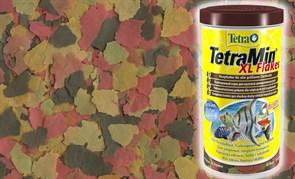 TetraMin XL  40 г (соответсвует объёму 250 мл) на развес - (крупные хлопья)  - универсальный корм для рыб