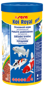 sera KOI Royal mini 1 л (гранулы - 2 мм) - корм для молодых карпов Кои