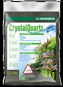 Dennerle Kristall-Quarz - аквариумный грунт, гравий фракции 1-2 мм, цвет черный, 5 кг.