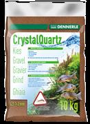 Dennerle Kristall-Quarz - аквариумный грунт, гравий фракции 1-2 мм, цвет светло-коричневый (цвет косули), 10 кг.