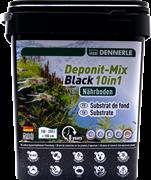 Dennerle Deponitmix Professional Black 10in1 9,6кг - питательный субстрат