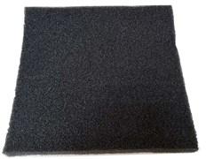 Roof Foam Губка фильтрующая пенополиуритановая 50х500х500мм PPI 20 черная