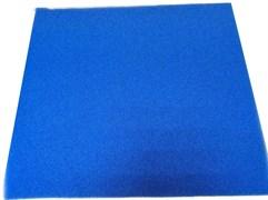 Roof Foam Губка фильтрующая пенополиуритановая 50х500х500мм PPI 30 синяя