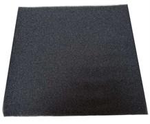 Roof Foam Губка фильтрующая пенополиуритановая 50х500х500мм PPI 30 черная