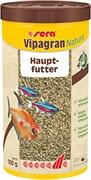 sera Vipagran Nature 1 л - универсальный корм для всех видов рыб (гранулы)