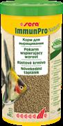 sera Immun Pro Nature 1 л - основной корм для выращивания рыбы и укрепления иммунитета (гранулы)