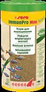sera Immun Pro mini Nature 1 л - основной корм для выращивания рыбы и укрепления иммунитета (гранулы)