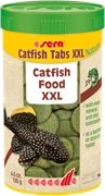 sera Catfish Tabs XXL Nature 250 мл - корм таблетки для крупных лорикариевых сомов