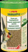 sera Immun Pro Nature 250 мл - основной корм для выращивания рыбы и укрепления иммунитета (гранулы)