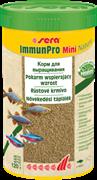 sera Immun Pro mini Nature 250 мл - основной корм для выращивания рыбы и укрепления иммунитета (гранулы)