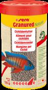 sera Granured Nature 250 мл - корм для плотоядных цихлид (гранулы)