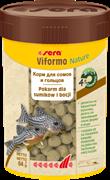 sera Viformo Nature 100 мл - корм в таблетках для всех видов донных рыб