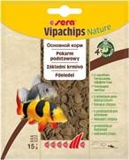 sera Vipachips Nature 15 г (пакетик) - корм для всеядных донных рыб
