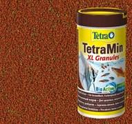 TetraMin XL Granules 370г (соответствует объёму 1 л) на развес - универсальный корм для рыб (крупные гранулы)