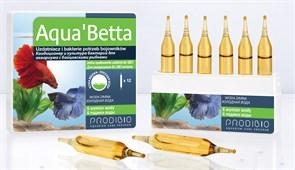 Prodibio Aqua`Betta кондиционер и бактериальная культура  для петушков (12шт на 180 литров)